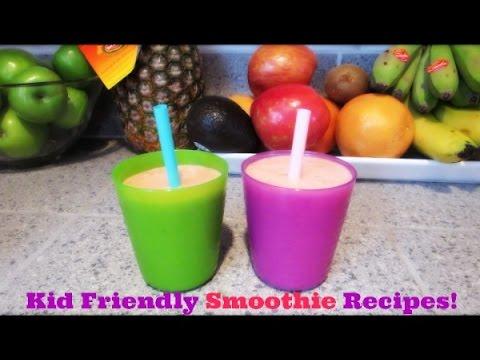 Video ❤ Kid Friendly Smoothie Recipes ❤