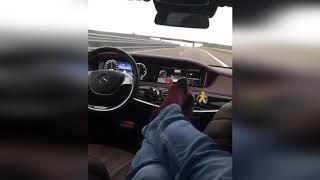 Безумный тест автопилота на новом Mercedes-Benz S-class