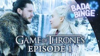 Winterfell: Game Of Thrones Staffel 8 Episode 1 Review | Bada Binge Spezial #01