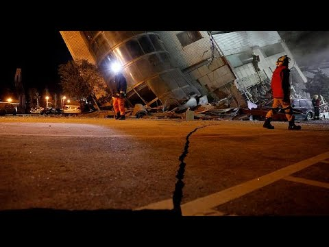 Ταϊβάν- Σεισμός: Μάχη με τον χρόνο στα συντρίμμια