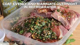 Garlic Soy Pork Chops on the Blackstone Products Griddle ♨️