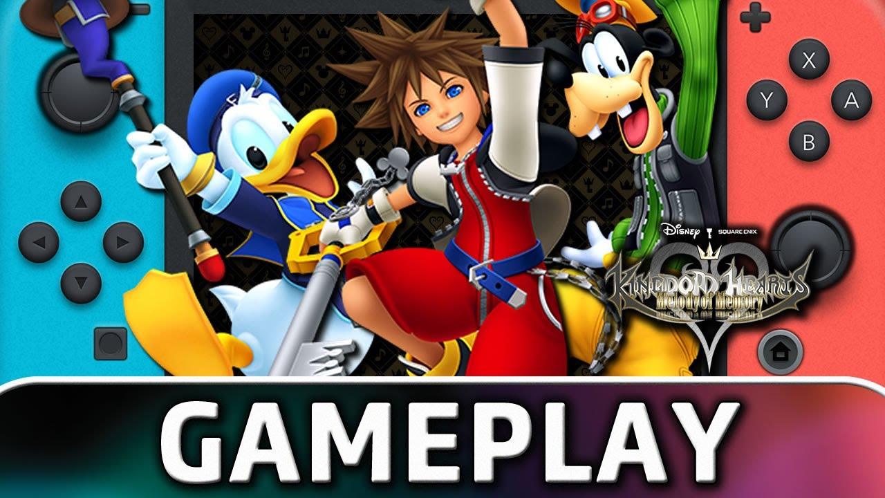 Kingdom Hearts: Melody of Memory   Nintendo Switch Gameplay