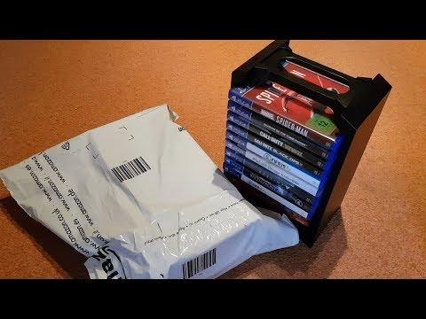 Venom Games Storage Tower| Unboxing | Bis zu 12 PS4/PS3/Xbox One Spiele oder Blu rays [HD]
