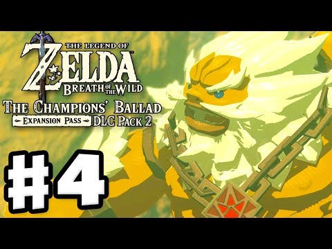 Daruk's Song! - The Legend of Zelda: Breath of the Wild DLC Pack 2 Gameplay