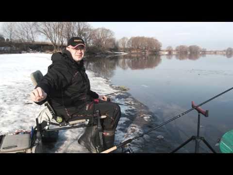 Рыбалка в марте ВИДЕО