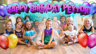 PEYTONS 6th MERMAID BIRTHDAY PARTY SPECIAL! 🎂