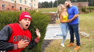 Spying On My Girlfriend...(WIFE GETS CAUGHT CHEATING)