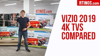 Video: All Vizio 2019 4k TVs compared