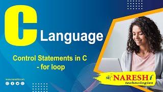Control Statements in C - for loop | C Language Tutorial