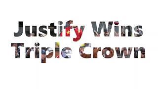 Justify Wins Triple Crown