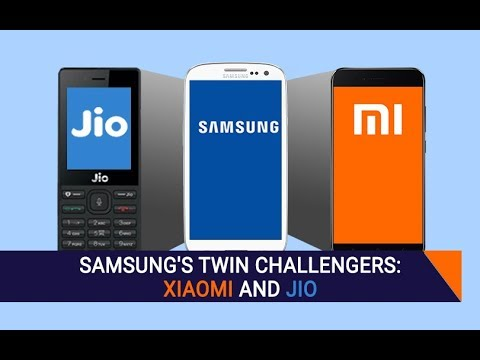 Samsung struggles to fend off twin attacks from Xiaomi and Jio