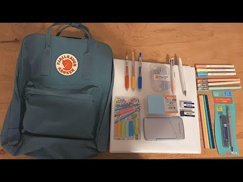 Back to School Supplies Haul:Japanese Stationery for High school 2018