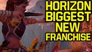 Horizon Zero Dawn sales HUGE SUCCESS - BIGGEST NEW FRANCHISE LAUNCH (Horizon Zero Dawn gameplay)