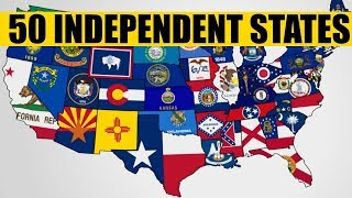 What If Every U.S. State Became Independent?