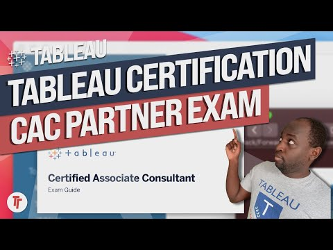 The Tableau Certified Associate Consultant Exam 2021 - YouTube