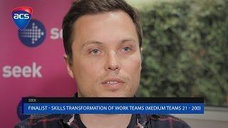 2016 Skills transformation of work teams – (Medium teams 21-200) Winner - SEEK