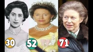 Princess Margaret ♕ Transformation From 00 To 71 Years OLD
