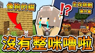 【Minecraft】生存挑戰#8 番外篇!咪嚕老師教大家玩麥塊生存!沒有整人嗎? ⚔️新手教學⚔️【1.15.2】