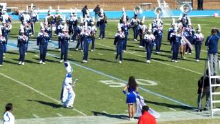 preview picture of video 'Hampton University Marching FORCE Breast Cancer Awareness Halftime Show'