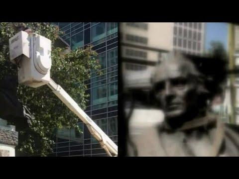 City of Detroit removes Christopher Columbus statue