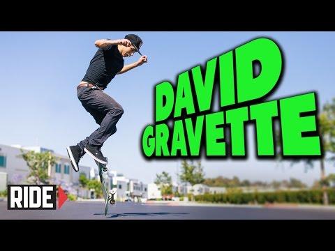 David Gravette Nollie Flop - Skateboarding in Slow Motion