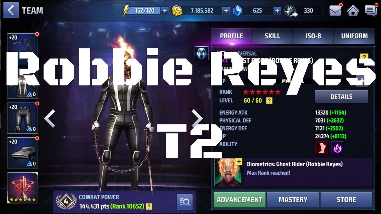 รีวิว Robbie Reyes T2