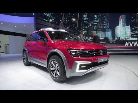 Volkswagen Tiguan GTE Active Concept - 2016 Detroit Auto Show