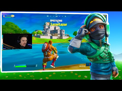 I spectated LazarBeam and this happened...