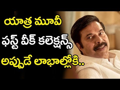 Yatra Movie 1st Week Collections | Yatra Movie First Week Collections | Mammootty | Top Telugu Media