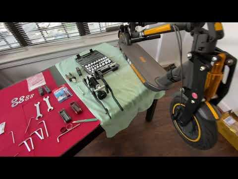 Ninebot max G30 Monorim front suspension tutorial