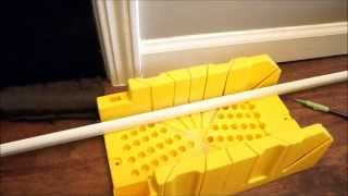 How to Cut and Install Shoe Moulding