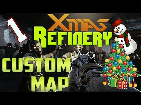 Waw Custom Zombie Map Xmas Refinery