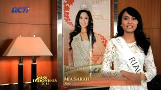 Mia Sarah for Miss Indonesia 2015