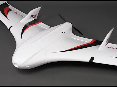 ZETA FX-79 Buffalo FPV Flying Wing EPO 2000mm build da Banggood