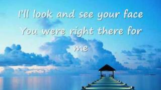 Faith Hill - There you'll be (lyrics)