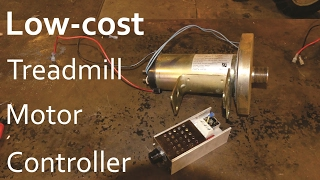 Low Cost DC Motor Controller For Treadmill