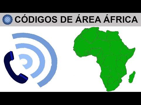 CÓDIGOS DE ÁREA ÁFRICA