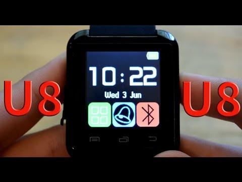 U8 Smart Watch Unboxing & Review   $8 eBay!