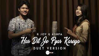 Har Dil Jo Pyar Karega - Cover | R Joy ft. Ashfa | Salman Khan, Rani Mukherji
