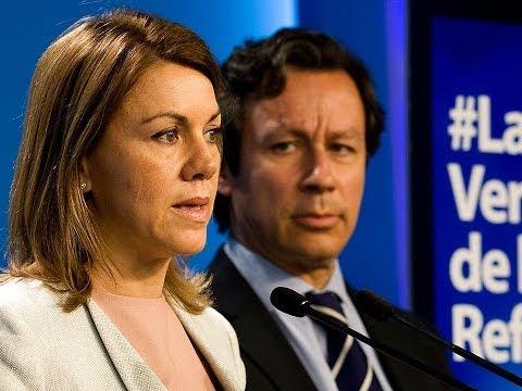 Cospedal y Floriano presentan