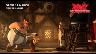 Asterix: The Mansions Of The Gods - Trailer