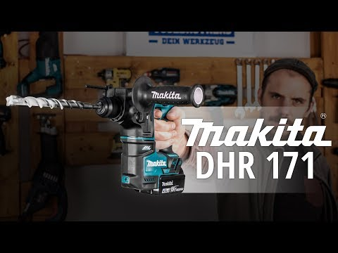 MAKITA DHR 171 SUBCOMPACT BRUSHLESS BOHRHAMMER - Review