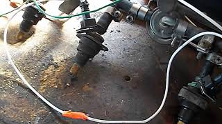 unsticking stuck fuel injectors