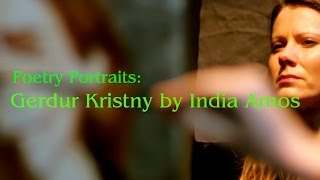 preview picture of video 'Poetry Portraits: Gerdur Kristny by India Amos'