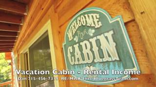 Owner Finance Cabin vacation home for sale Red River Gorge Kentucky KY