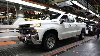 2020 Chevrolet Silverado Assembly line - Full Size Truck Production