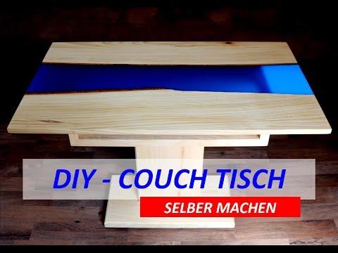 COUCH TISCH SELBER MACHEN | RIVER TABLE
