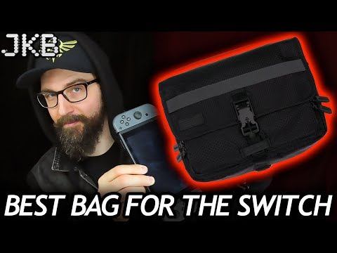 BEST Nintendo Switch Travel Bag Review (By Funk St) | JKB