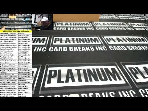 platinum card breaks Live Stream