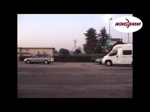 Wingamm Brownie 5.0 - prove di parcheggio
